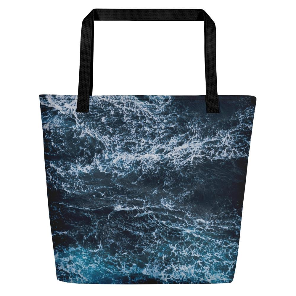 Blue Waves Beach Bag