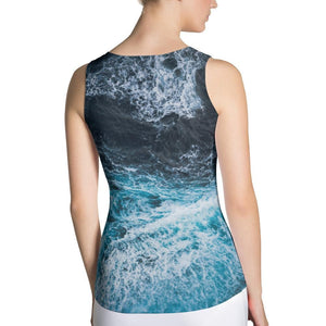 Blue Waves Tank Top