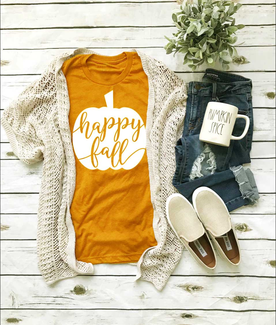 Happy Fall Tee