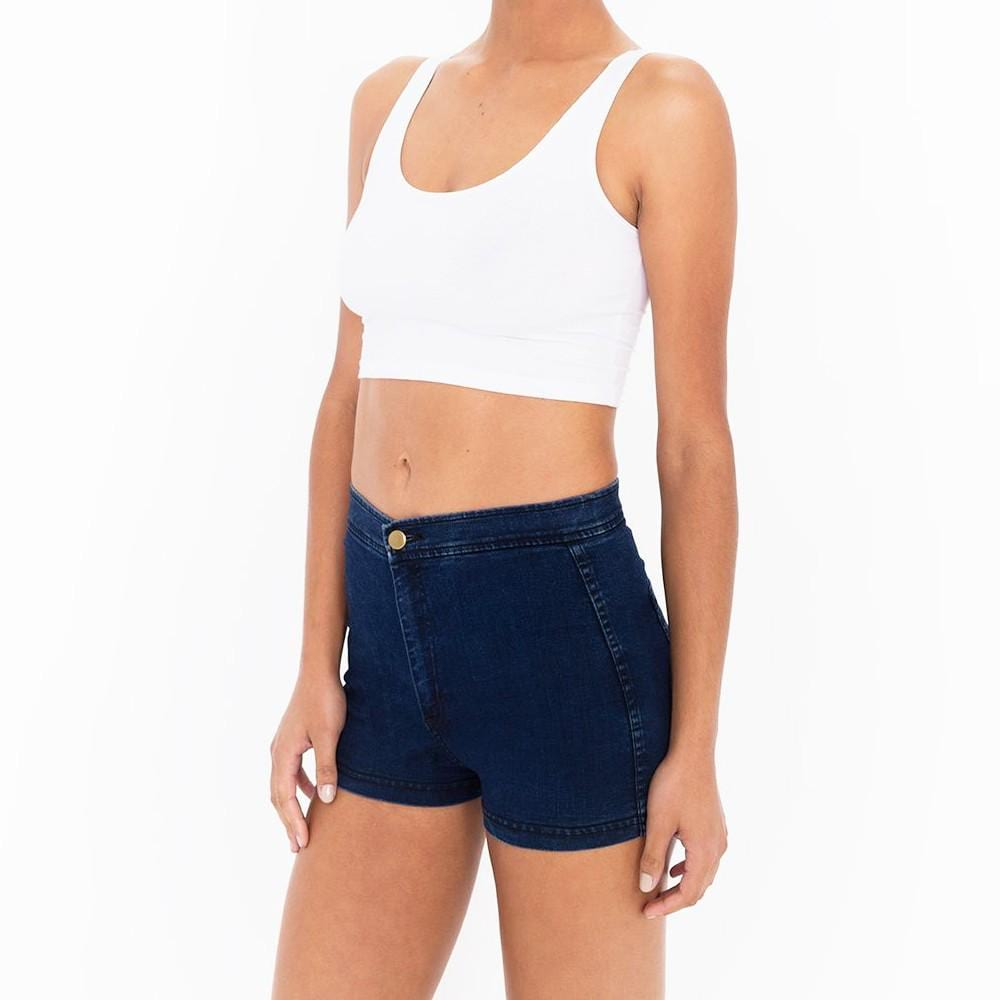 Women's Vintage High Waist Denim Shorts