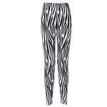 Zebra Fashion Print Leggings