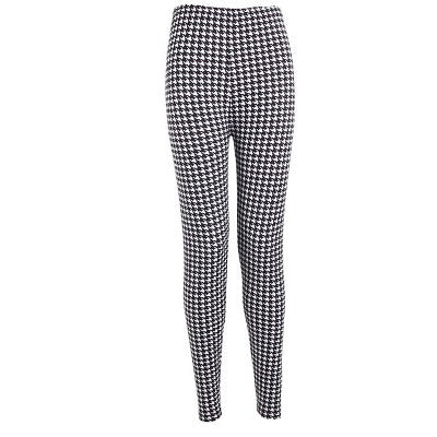 Houndstooth Fashion Print Leggings