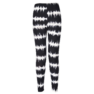 Striped Fashion Print Leggings