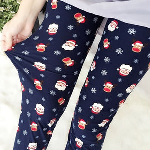 Christmas Fashion Print Leggings