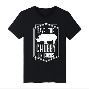 Save The Chubby Unicorns Graphic Tee