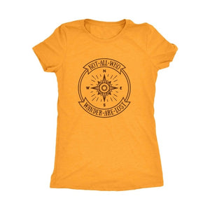 Not All Who Wander Are Lost Compass Tee