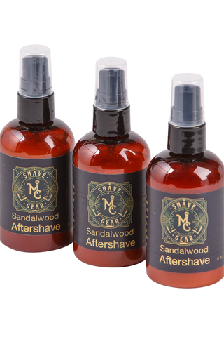 all natural aftershave with aloe and witch hazel to prevent razor burn and bumps
