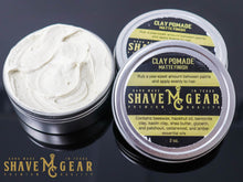 Load image into Gallery viewer, all natural hair pomade with clay for medium hold