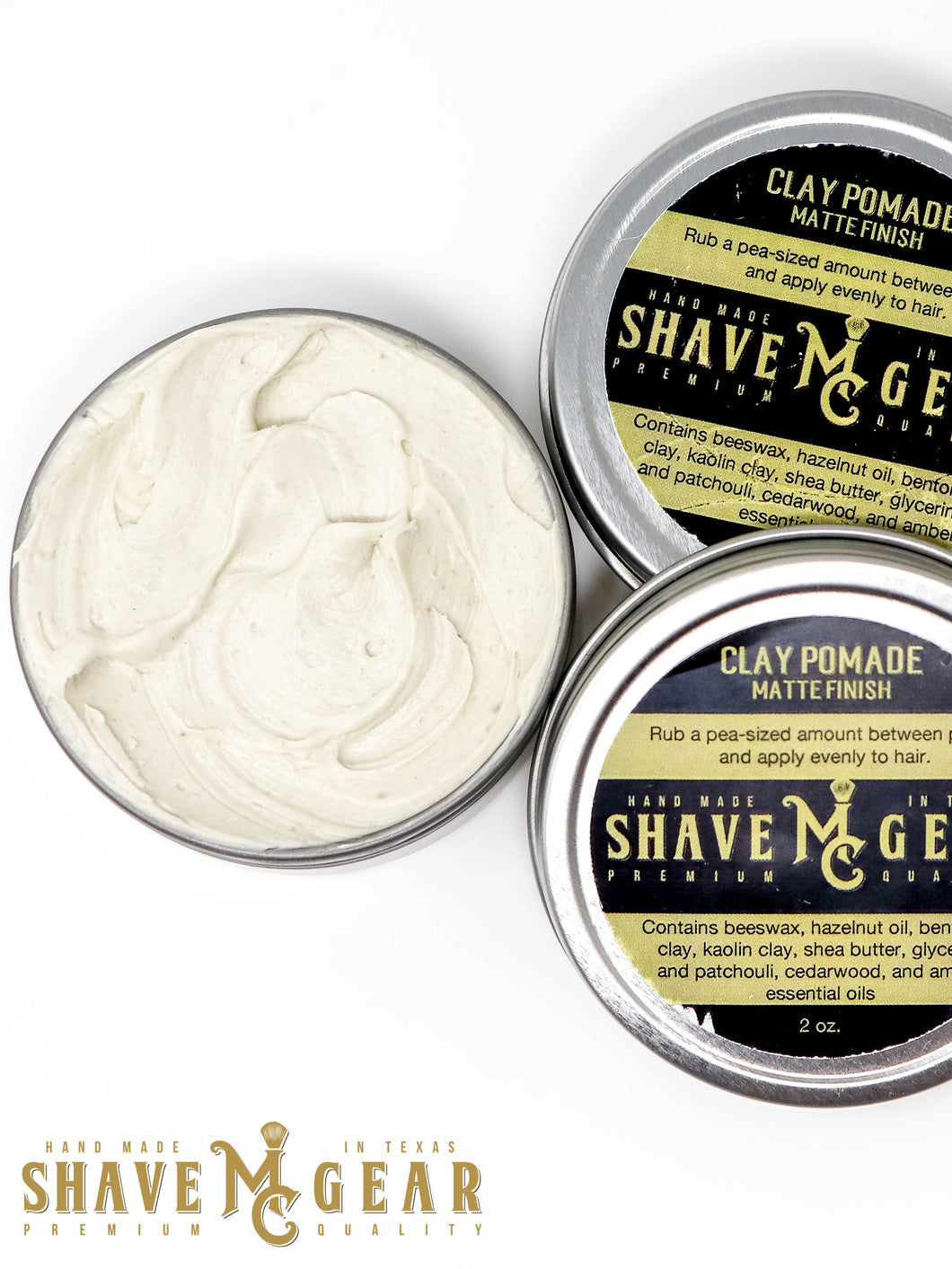 hair pomade with clay for medium hold