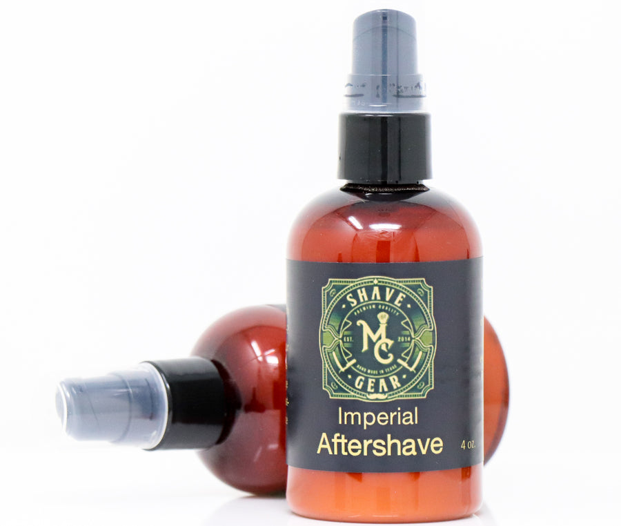 imperial shea butter aftershave by mc shave gear
