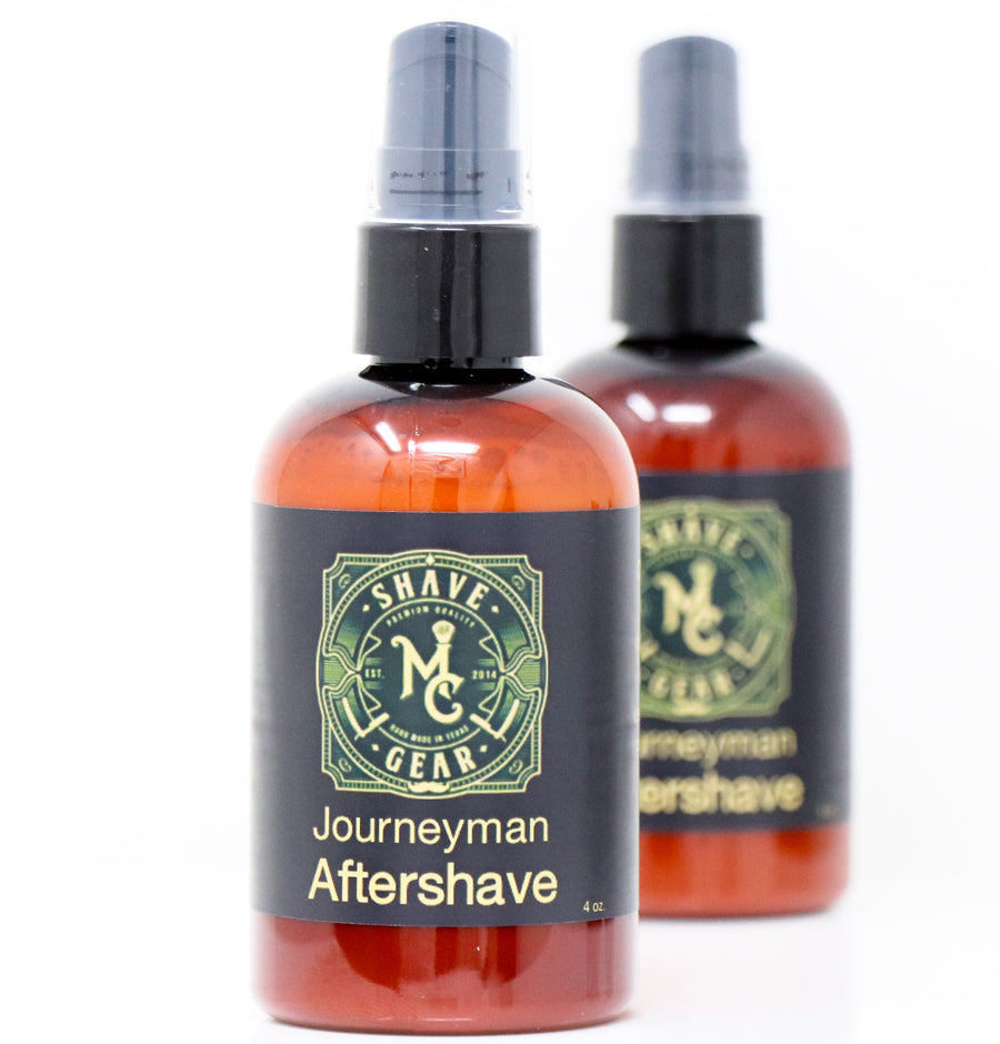 journeyman shea butter aftershave by mc shave gear