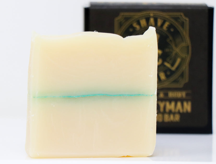 Hair, Face & Body Shampoo Bar