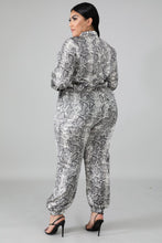 Load image into Gallery viewer, Plus Size Snake Print Wild Jumpsuit - Alycia Mikay Fashion