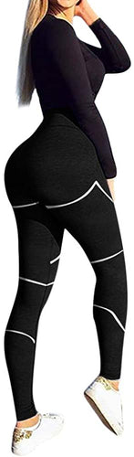 Seamless High Waist Workout Leggings - Alycia Mikay Fashion