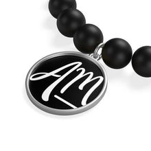 Load image into Gallery viewer, Matte Onyx Bracelet - Alycia Mikay Fashion