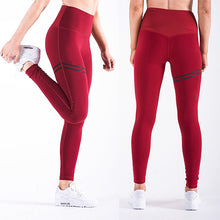 Load image into Gallery viewer, High Waist Fitness Leggings with Thigh Accent - Alycia Mikay Fashion