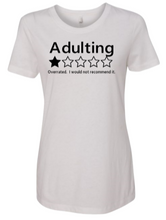 Load image into Gallery viewer, Adulting T-shirt - Alycia Mikay Fashion