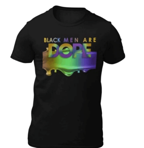 Black Men Are Dope T-Shirt - Alycia Mikay Fashion