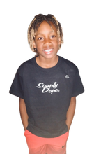 "Load image into Gallery viewer, Youth ""Simply Dope"" Tee - Alycia Mikay Fashion"