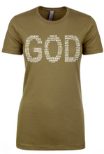 Load image into Gallery viewer, GOD Tee - Alycia Mikay Fashion