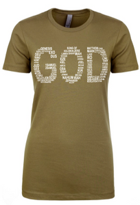GOD Tee - Alycia Mikay Fashion