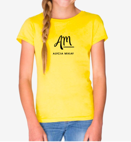 Girls Alycia Mikay Tee - Alycia Mikay Fashion