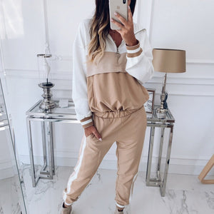 Women's 2-Piece Hooded Tracksuit - Alycia Mikay Fashion
