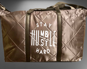Hustle Hard Yoga / Weekender Bag - Alycia Mikay Fashion