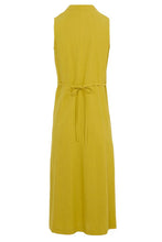 Load image into Gallery viewer, V-Neck Pleated Sleeveless Dress - Alycia Mikay Fashion