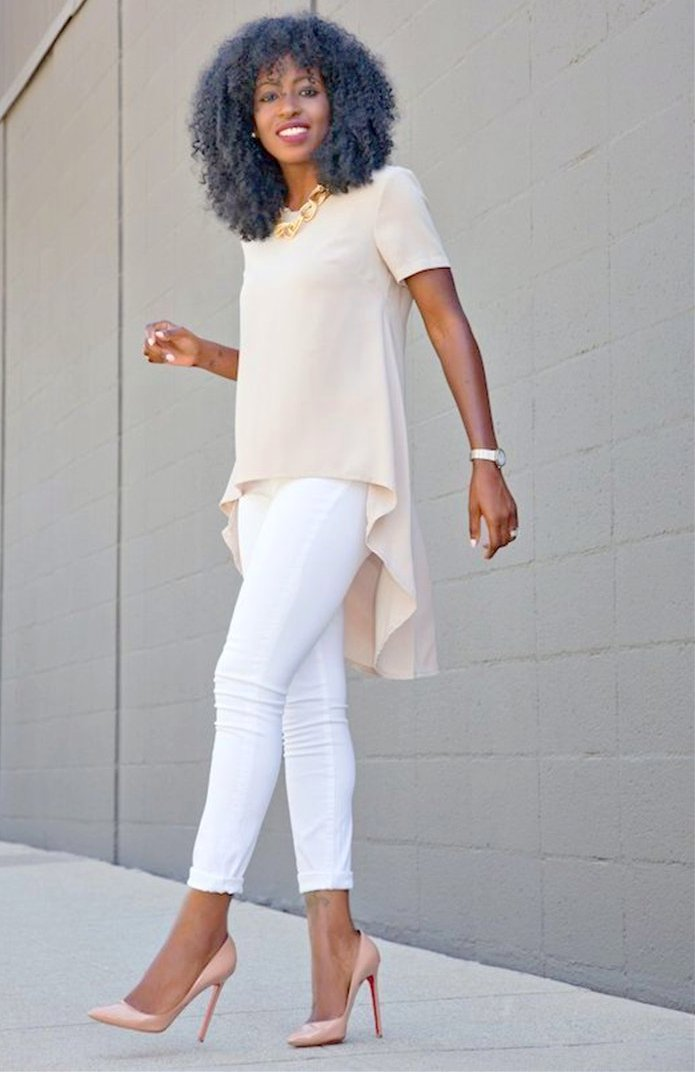 Sassy Loose Chiffon Blouse - Alycia Mikay Fashion