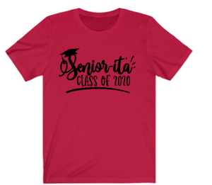 Seniors T-Shirt:  Seniorita Class of 2020 - Alycia Mikay Fashion
