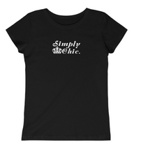 "Load image into Gallery viewer, Girls ""Simply Chic"" Tee - Alycia Mikay Fashion"