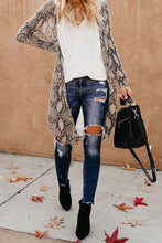 Load image into Gallery viewer, Snake Print Long Cardigan - Alycia Mikay Fashion