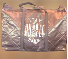 Load image into Gallery viewer, Hustle Hard Yoga / Weekender Bag - Alycia Mikay Fashion