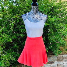 Load image into Gallery viewer, Sunrise Coral Tennis Skirt Set - Alycia Mikay Fashion