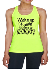 Load image into Gallery viewer, Wake Up Beauty Performance Tank Top - Alycia Mikay Fashion