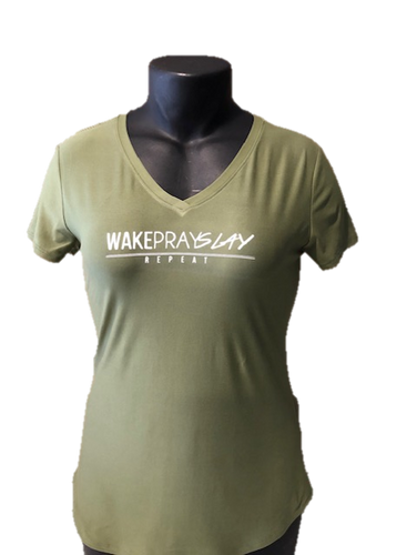 Wake, Pray, Slay T-Shirt - Alycia Mikay Fashion