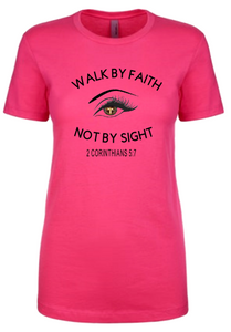 Walk By Faith Tee - Alycia Mikay Fashion