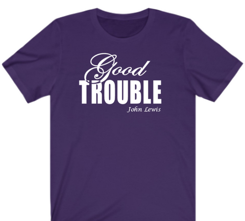 Fancy Good Trouble T-shirt - Alycia Mikay Fashion
