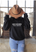Load image into Gallery viewer, Know Your Worth Sweatshirt