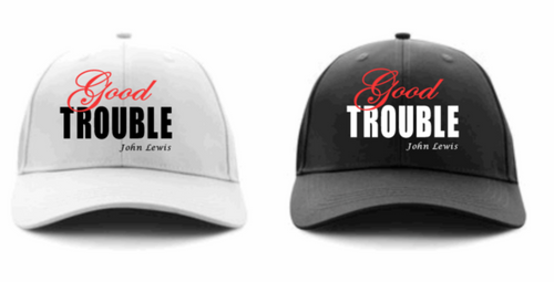 Good Trouble Basesball Cap - Alycia Mikay Fashion