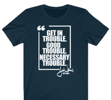Load image into Gallery viewer, Get In Trouble T-shirt - Alycia Mikay Fashion