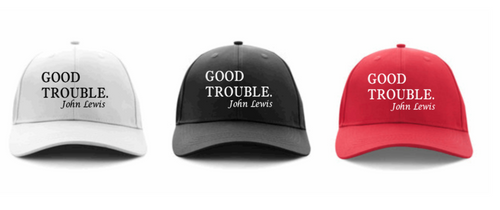 Simple Good Trouble Basesball Cap - Alycia Mikay Fashion