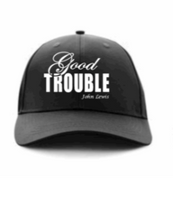 Load image into Gallery viewer, Fancy Good Trouble Basesball Cap - Alycia Mikay Fashion