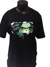 Load image into Gallery viewer, Grinch Social Distancing Christmas T-shirt