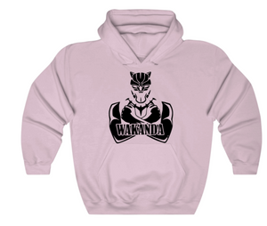 Black Panther Wakanda Hoodie - 10% of this purchase will be donated to American Cancer Society