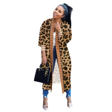 Load image into Gallery viewer, Leopard Print Loose Cardigan - Alycia Mikay Fashion
