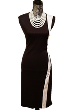 Load image into Gallery viewer, Black Career Dress - Alycia Mikay Fashion