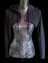 Load image into Gallery viewer, Athletic Crop Hoodie - Alycia Mikay Fashion