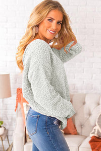 Twist Back Sweater - Alycia Mikay Fashion